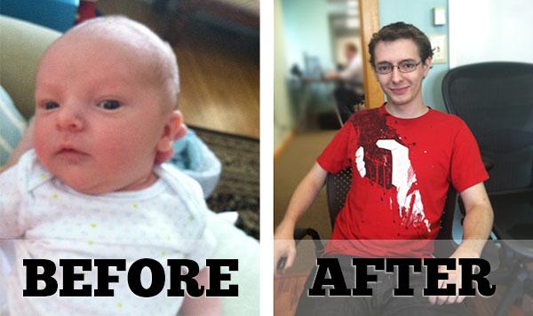 Our intern Jordan grows up